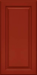 Cabinet Painting - Red Door